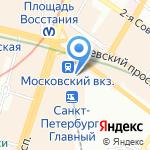 Hot dog bar на карте Санкт-Петербурга