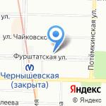 В праве на карте Санкт-Петербурга