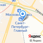 Daily Food на карте Санкт-Петербурга