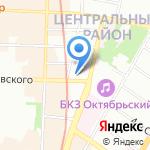 Вояж Ксения на карте Санкт-Петербурга