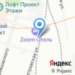 Nord на карте Санкт-Петербурга