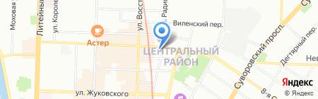 Un Bon на карте Санкт-Петербурга