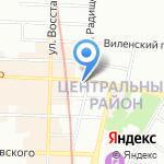 Солдат Удачи на карте Санкт-Петербурга