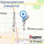 Агис на карте Санкт-Петербурга