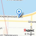 Норд-Вест Капитал на карте Санкт-Петербурга
