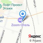 Офис сервис СПб на карте Санкт-Петербурга