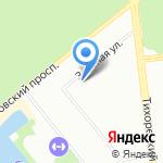 Детский сад №108 комбинированного вида на карте Санкт-Петербурга