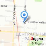 Александрия на карте Санкт-Петербурга