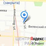 Центр психологического консультирования на карте Санкт-Петербурга