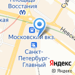 Универсальное оружие на карте Санкт-Петербурга