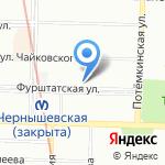 Международный Центр Кредитования на карте Санкт-Петербурга