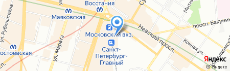 1000 мелочей на карте Санкт-Петербурга