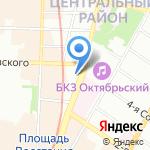 Инженер-строитель на карте Санкт-Петербурга