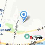Альянс КожПром на карте Санкт-Петербурга