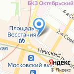 Ginger company на карте Санкт-Петербурга