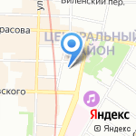 Krasava на карте Санкт-Петербурга