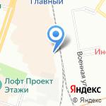 Блок на карте Санкт-Петербурга