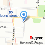 Квадро на карте Санкт-Петербурга