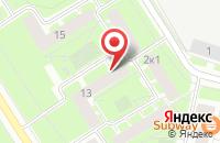 Схема проезда до компании Гипромех в Санкт-Петербурге