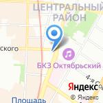 ICare на карте Санкт-Петербурга