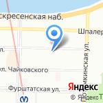 Аваль Консалтинг Групп на карте Санкт-Петербурга