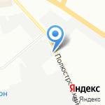 Славянский форт на карте Санкт-Петербурга