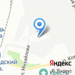 Газовый Трест на карте Санкт-Петербурга
