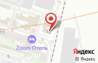 Схема проезда до компании Восток и Запад в Санкт-Петербурге