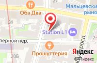 Схема проезда до компании Не Болей в Иваново
