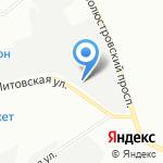 Норд Газ на карте Санкт-Петербурга
