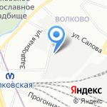 Городской центр автостоянок и гаражей на карте Санкт-Петербурга