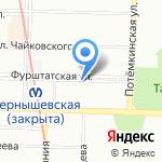 Фото-копи центр на карте Санкт-Петербурга