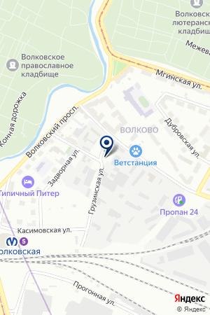 ПТФ ПЕРЕКРЕСТОК на карте Санкт-Петербурга