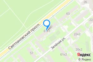 Снять однокомнатную квартиру в Санкт-Петербурге Светлановский пр-т, 61к1