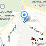 Карвет на карте Санкт-Петербурга