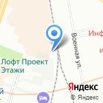 Лиговский на карте Санкт-Петербурга