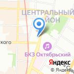Биос на карте Санкт-Петербурга