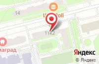 Схема проезда до компании Секрет в Астрахани