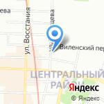 РЭС ТСВ на карте Санкт-Петербурга