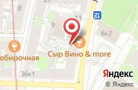 Схема проезда до компании Промстройижора Колпино в Санкт-Петербурге