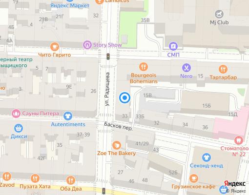 Управляющая компания «Центральный РЭС ТСВ» на карте Санкт-Петербурга