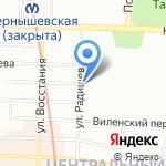ДОСААФ России по Центральному району на карте Санкт-Петербурга