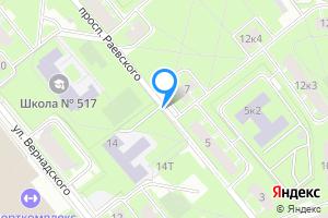 Однокомнатная квартира в Санкт-Петербурге пр-т Раевского