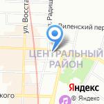 Северная Столица на карте Санкт-Петербурга