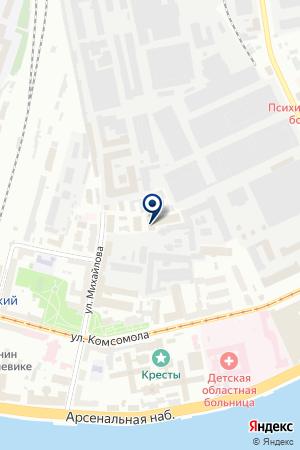 ТОРГОВАЯ КОМПАНИЯ ТИНКО-НОРД на карте Санкт-Петербурга