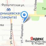 Норд на карте Санкт-Петербурга