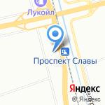 Калач на карте Санкт-Петербурга