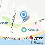Савион на карте Санкт-Петербурга