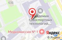 Схема проезда до компании Праймэкс в Санкт-Петербурге