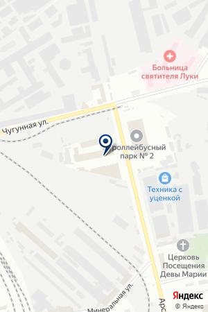 ТФ НАХОДКА на карте Санкт-Петербурга